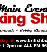 main event boxing show logo