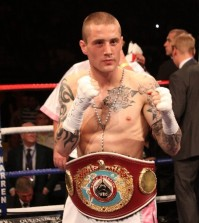 Ricky Burns world champion boxer