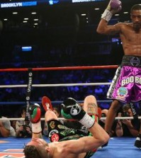 brian rose result stopped by andrade