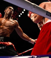 "©Russell Pritchard 11th October 2014 Matchroom Boxing presents Selby & Joshua  "" Moment of truth "" at The O2, London.Vacant WBC International Heavyweight Championship 10 x 3 Min Rounds between Anthony Joshua, (London) and Dennis Bakhtov, (Russia)©Russell Pritchard / Matchroom Boxing"