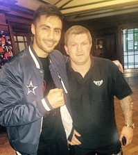 Sohail Ahmad and Ricky Hatton