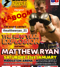 Matty Ryan Fight Poster