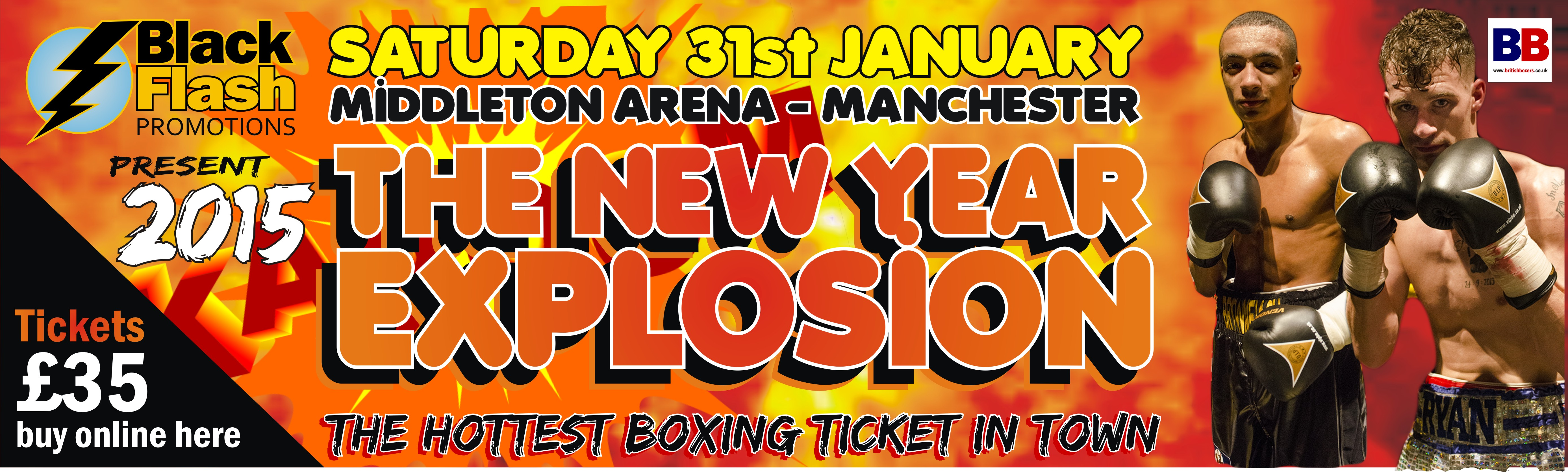 Tickets for 31st Jan 2015