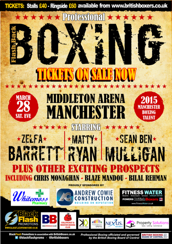 50s fight poster march 28