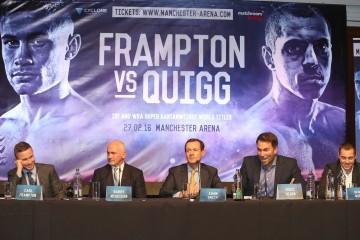 Frampton v Quigg - Belfast