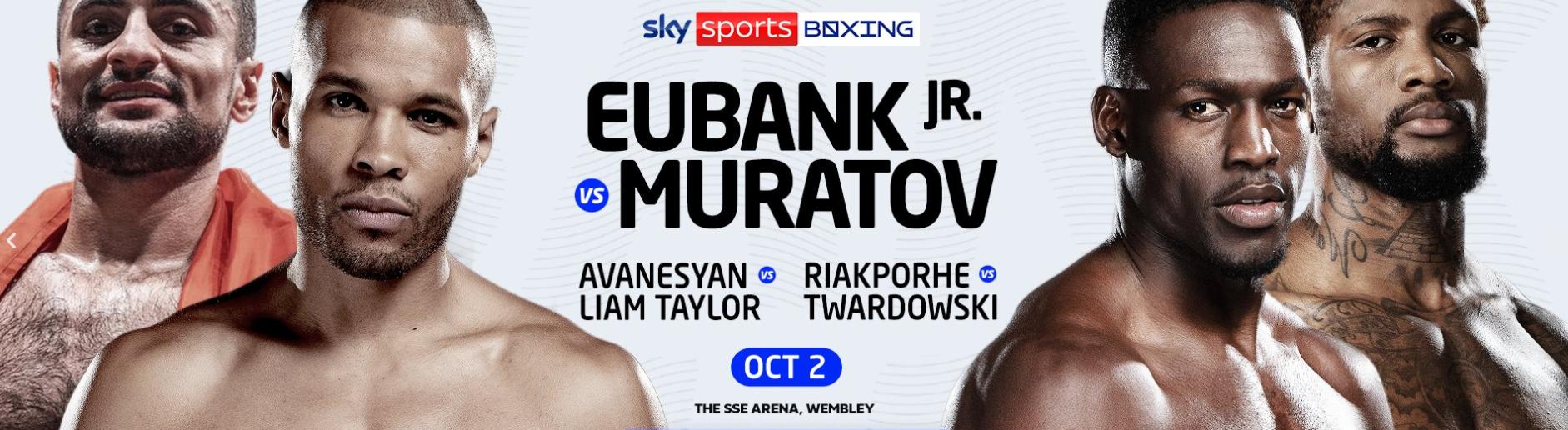 Eubank Muratov
